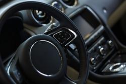 Interior view of car