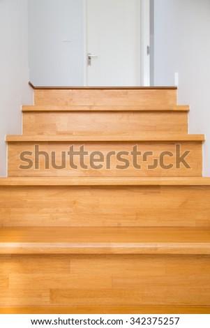 Interior - wood stairs.