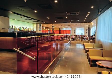 Interiors - hotel  (bar/restaurant)