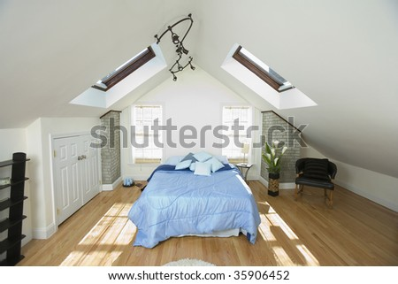 Interiors of a bedroom