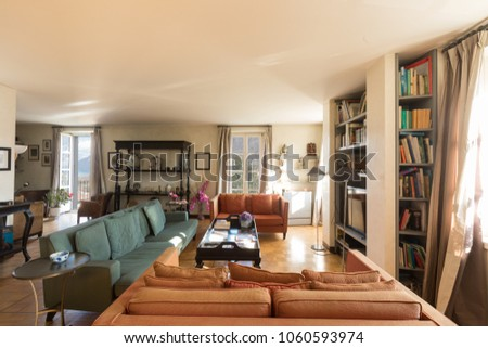 Interiors of modern apartment, nobody inside #1060593974