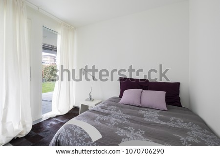 Interiors of modern furnished apartment #1070706290
