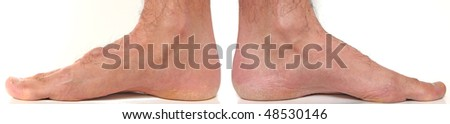 Internal Feet and ankle - stock photo