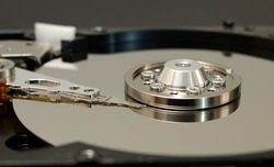 internal structure of a computer hard drive, the hard drive, which typically provides storage for data and applications within a computer, has four key components inside its casing -- the platter