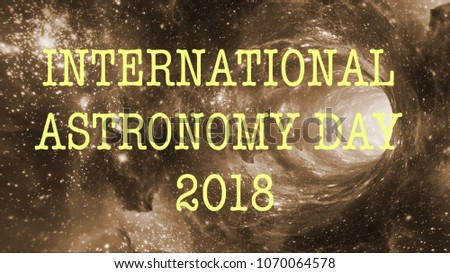 international astronomy day 2018