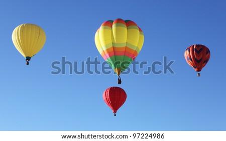 International Balloon Fiesta  in Albuquerque, New Mexico, USA - stock photo