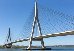 International Bridge, linking Portugal and Spain over the Guadiana river.