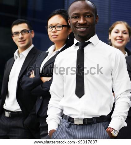 International business team - stock photo