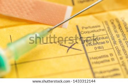 International certificate of vaccination - Haemophilus influenzae