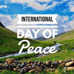 International day of peace event celebration.
