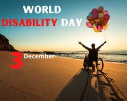 international day of persons with Disability , 3 December
