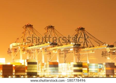 International shipping port