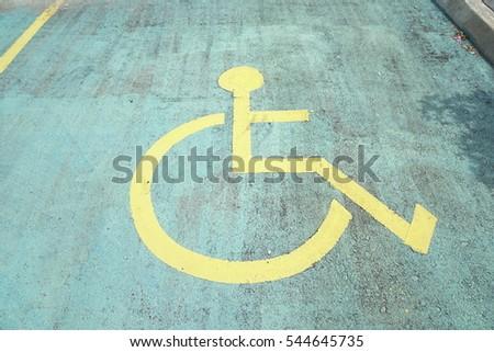 International symbol,wheelchair symbol #544645735