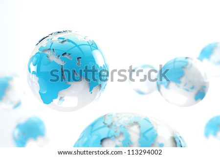internet and networking concept