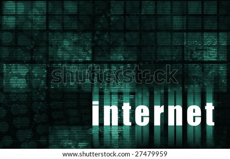 Internet as a Abstract Background or Illustration
