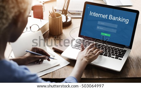 Internet Banking Online Payment Technology Concept