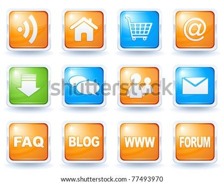 Internet button collection 1