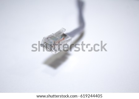 Internet cable #619244405