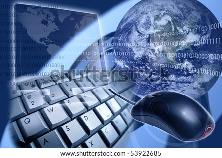 Internet concept composite