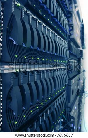 Internet Data Canter - stock photo