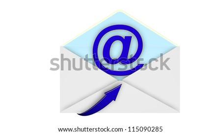 Internet email envelope
