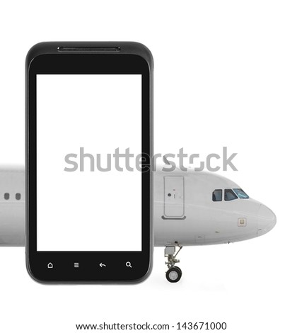 Internet flight booking