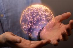 internet net and data digital concept