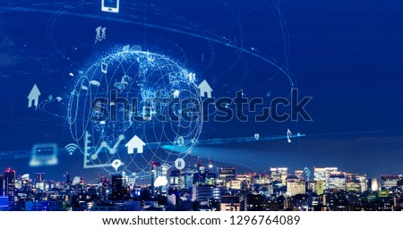 Internet of Things concept. IoT. #1296764089