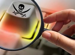 Internet piracy - illegal trademark abuse - criminality