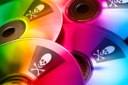 Internet piracy - illegal trademark abuse - criminality - DVD copy