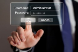 internet security, authorization page online