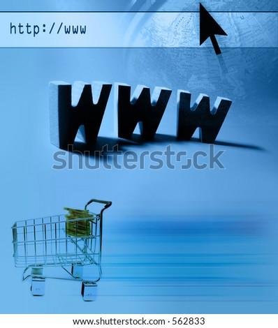 Internet themed design : E-commerce