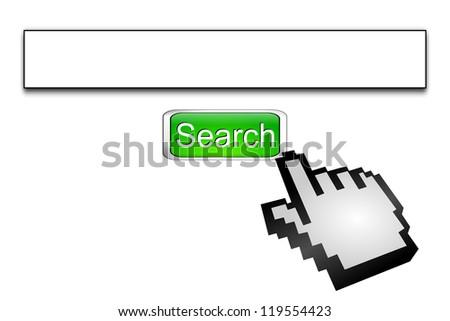 Internet web search engine - stock photo