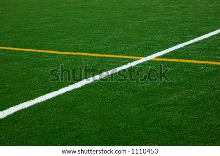 Intersecting lines - stock photoIntersecting Lines In Sports