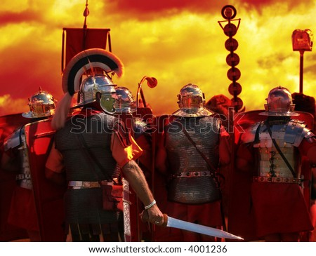 Into The Heat of Battle part of my Roman Army series