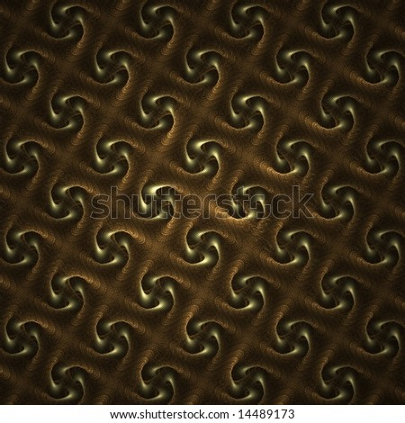 Brown and Black Diamond Pattern 1995
