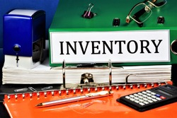 Inventory - household items and equipment for production purposes of the enterprise. Detailed and accurate accounting of the inventory - registry of property.