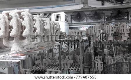 Investment casting manufacturing