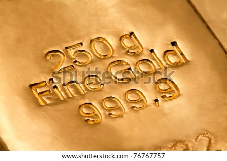 Investment in real gold than gold bullion and gold coins. safe investment
