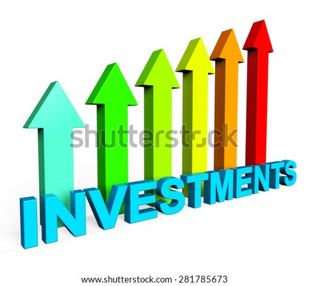 Investment Increasing Showing Financial Report And Progress