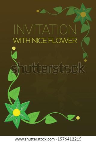 invitation card. invitation card template. invitation design