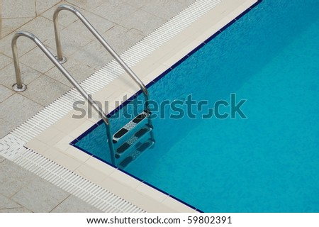 Invitation to a swimming pool