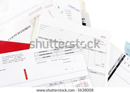 Invoices, statements and bills
