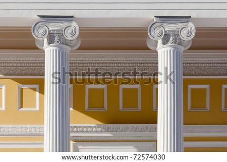 Ionic column #72574030