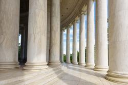 Ionic Columns at Jefferson Memorial, Washington DC Architecturel