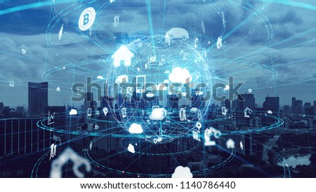 IoT (Internet of Things) concept. #1140786440