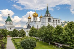 Ipatiev monastery in Kostroma town. Golden ring of Russia.