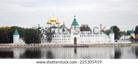 Ipatyevsky monastery. Famous historical place in Kostroma, Russia.