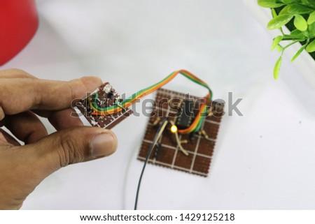 IR Pair Proximity infrared sensor with OP amp circuit  #1429125218