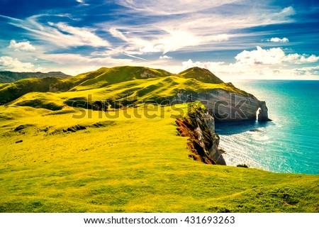Ireland, Coast Foto stock ©